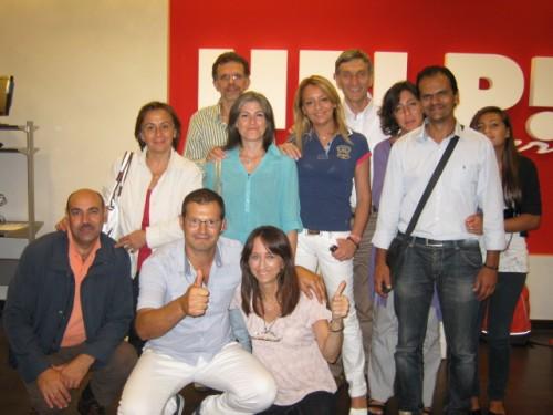 Da sin. in piedi: Maria, Pino, Angela (di Castellana), Angela (di Monopoli), Aldo, Mariella, Michele e Chiara. Da sin, in basso: Marino, Mimmo e Maria.